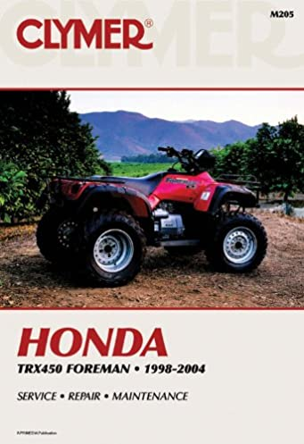 honda trx450 foreman 1998 2004 atv vendor id m205 penton staff rh amazon com