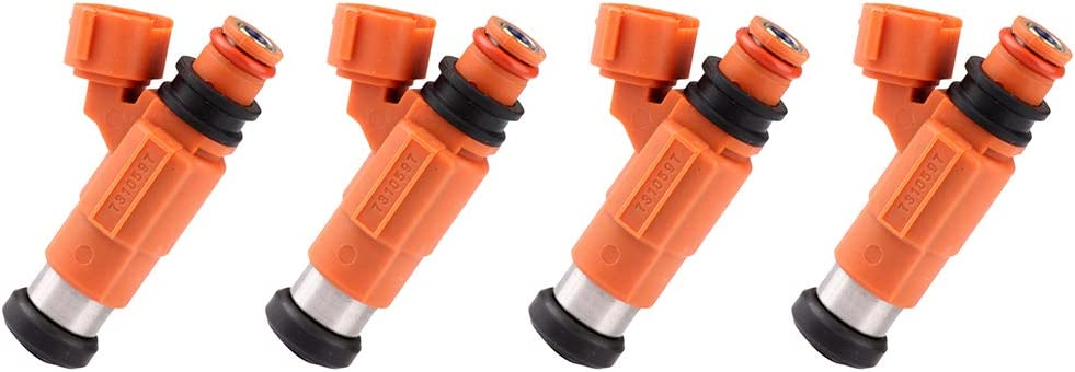 Set of 4 Mitsubishi Chrysler Dodge Chevrolet Suzuki Fuel Injectors CDH210 for Yamaha