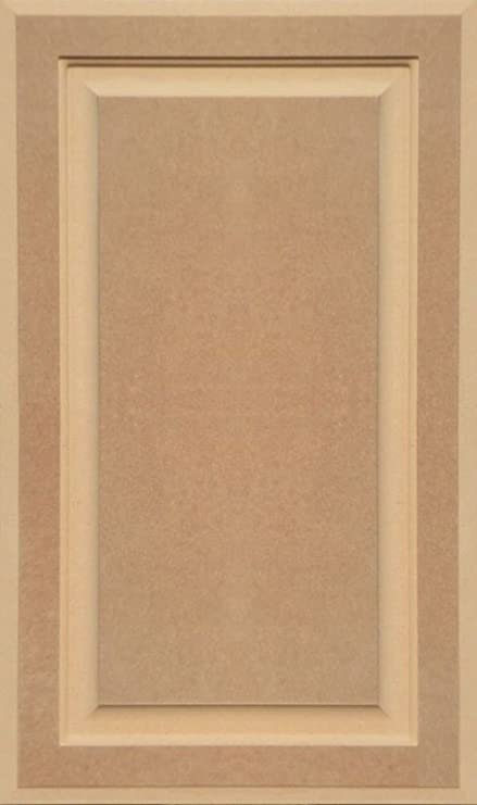 Unfinished Mdf Cabinet Door Square With Raised Panel By Kendor 27h