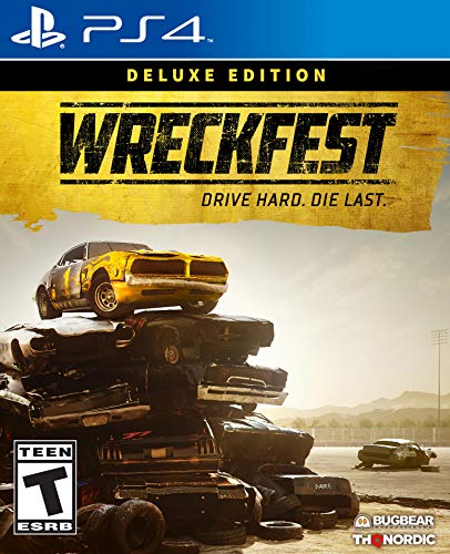 51YND1rixzL - Wreckfest - Deluxe Edition - PlayStation 4