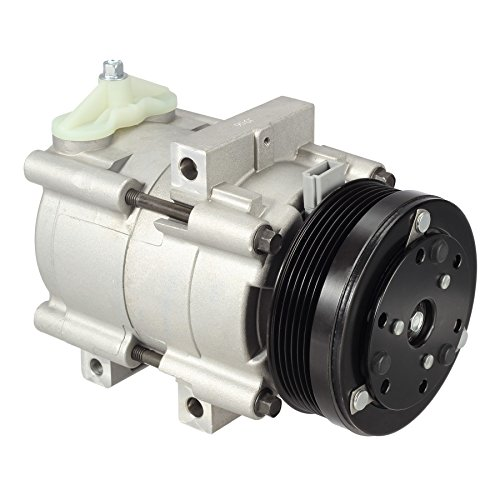 AUTEX AC Compressor and Clutch Assembly CO 101290C AC Replacement for ford Mustang 1996 1997 1998 1999 2000 2001 2002 2003 2004 2005 2006/Lincoln Town Car 1994 1995 1996 1997 1998 1999 2000 2001 2002 ()