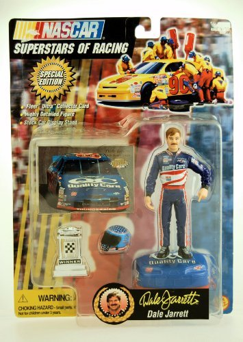 - 1997 - Toy Biz - NASCAR - Superstars of Racing - Special Edition - Dale Jarrett #88 - Action Figure w/ Accessories - Rare - Out of Production - Limited Edition - Collectible