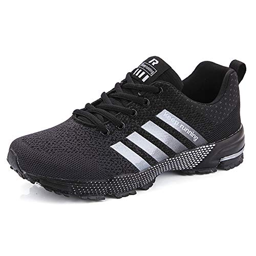 Running Shoes Men Trail Sneakers Mens Road Running Shoes Tennis Sports Shoes Athletic Fitness Outdoor Lightweight Sneaker for Men Women