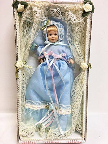 Show Stoppers Blue Joyful Long Gown Porcelain Baby for sale  Delivered anywhere in USA
