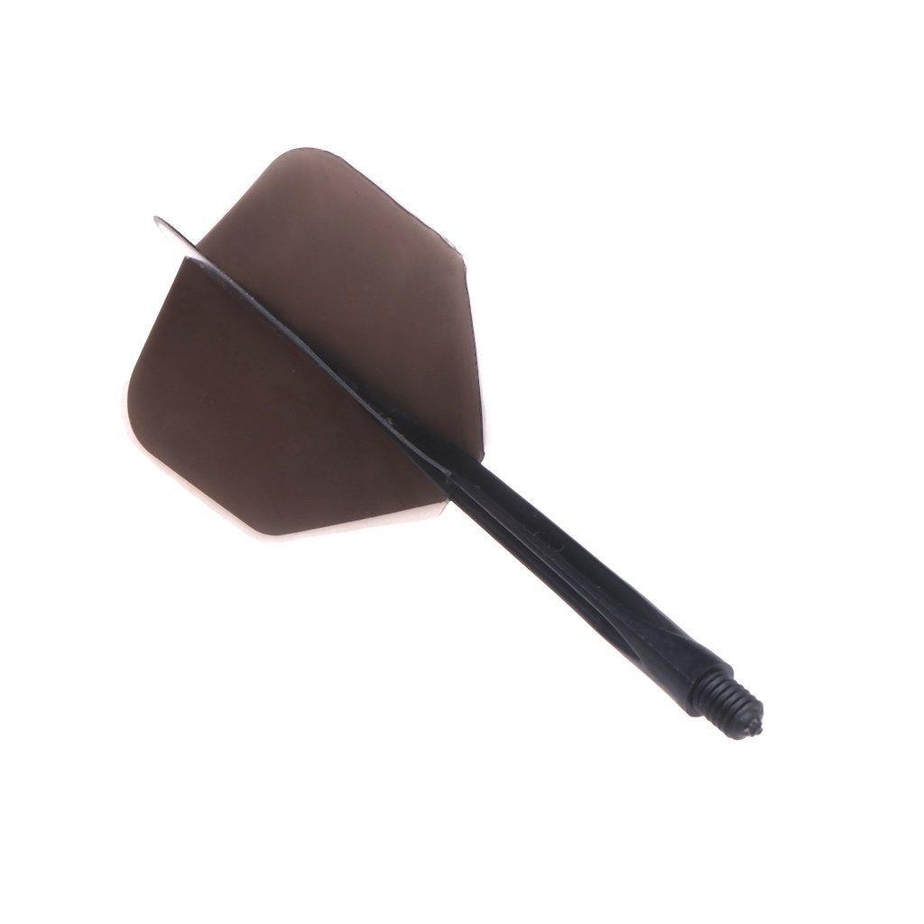 suave durable 80 mm dardos cola Autone 6pcs Plumas de dardo profesional 2BA tornillo