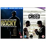 Ultimate Rocky 1-7 Complete Collection : Rocky / Rocky II / Rocky III / Rocky IV / Rocky V / Rocky Balboa / Creed the Rocky Legacy