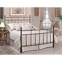 Hillsdale Furniture 380BFR Providence Bed Set with Rails, Full, Antique Bronze