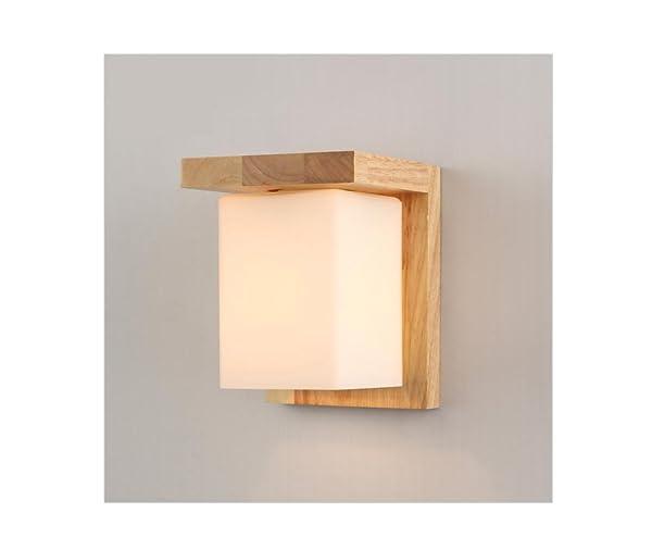 HYY@ Moderne Schlafzimmer Wand Lampe Holz Flur LED Wandleuchte ...