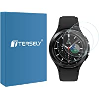 T Tersely (3 Pack) Screen Protector for Samsung Galaxy Watch 4 Classic 42MM, 9H Hardness Tempered Glass Screen Protector…
