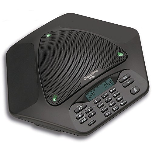 - ClearOne 910-158-600-00 MAXAttach Pods Wireless Tabletop Conference Phone System with 2 Pods