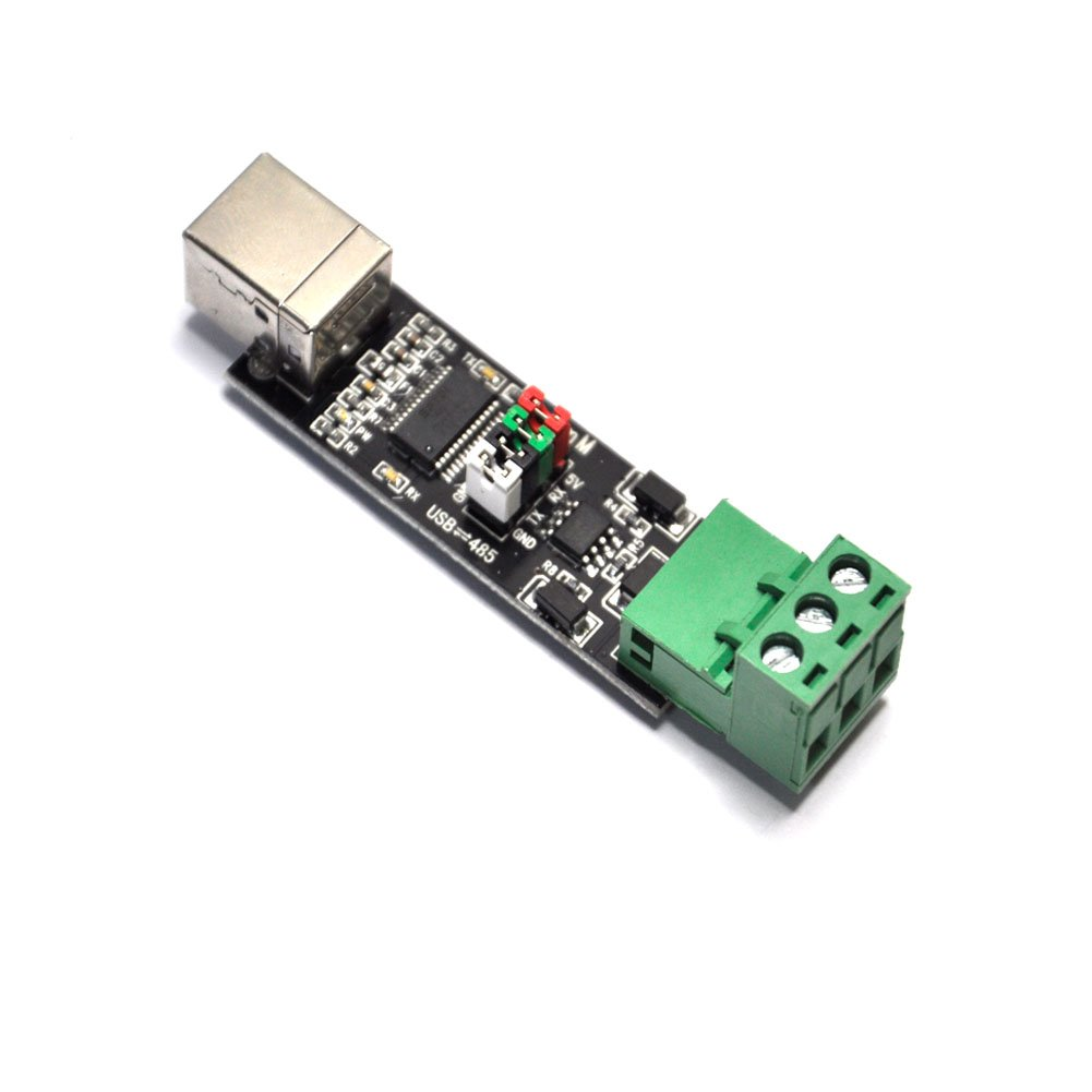 Read a MODBUS temperature sensor through USB-RS485 adapter