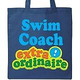 Inktastic - Swim Coach Extraordinaire Tote Bag Royal Blue 1a2d4