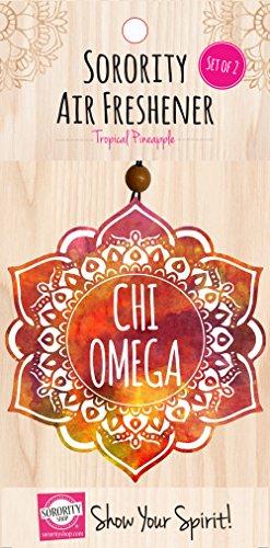 Chi Omega - Mandala Air Freshener - ()