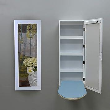 table a repasser murale miroir. Black Bedroom Furniture Sets. Home Design Ideas
