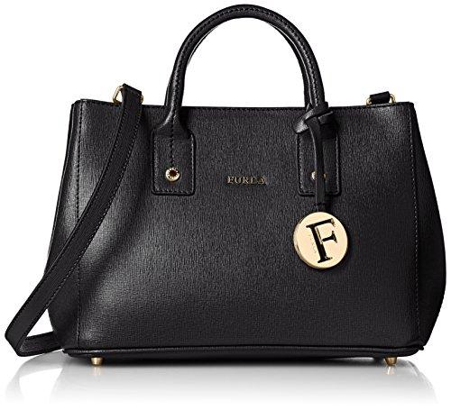 Furla Linda Mini hand bag Tote Onyx by Furla