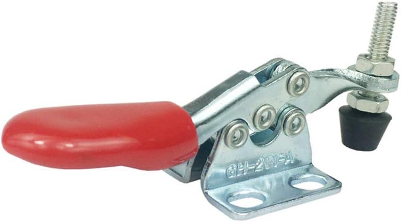 Gaosheng 4 St/ück Schnellspanner mit horizontaler Schnellspannerausl/ösung Metall Kleiner Waagrechtspanner Haltekraft Spannhebel Antislip Klemmen Handwerkzeuge