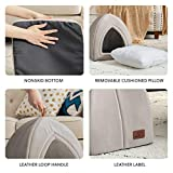 Bedsure Cat Bed for Indoor Cats, Cat Houses, Small