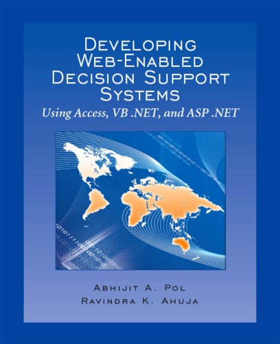 Developing Web-Enabled Decision Support Systems