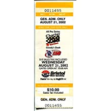 Bristol Motor Speedway-NASCAR Ticket Stub-8/23/2000-Goody's 150-All-Pro 250-VG