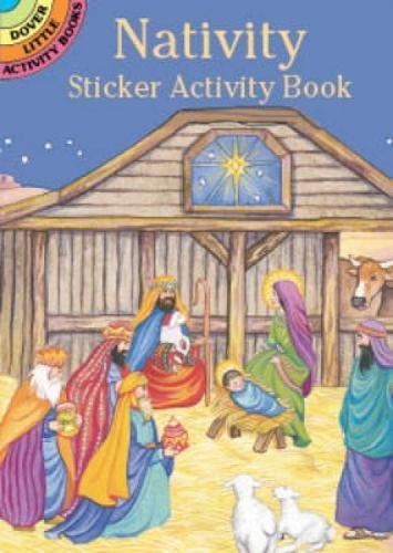 - Nativity Sticker Activity Book (Dover Little Activity Books Stickers)