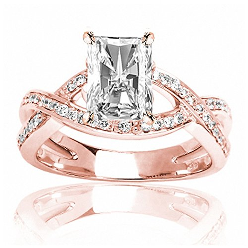 0.79 Ct Radiant Diamond - 7