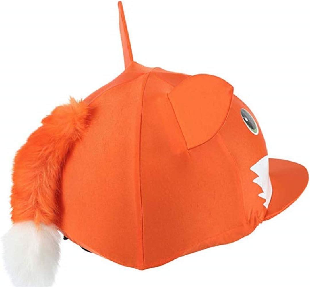 Chapeau Équitation Housse-orange