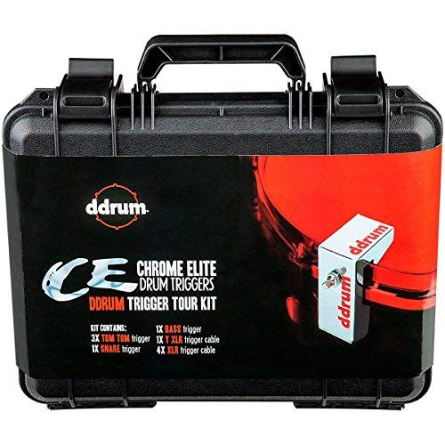 ddrum CETOURPK CE Trigger Pack with Case and Cables by Ddrum (Image #4)