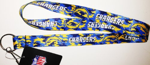 (NFL Team Camouflage Lanyard (Team Colors) (San Diego Chargers))
