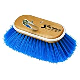 Shurhold 970 6-Inch Deck Brush with Extra Soft Blue Nylon Bristles