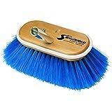"Shurhold 970 6"" Deck Brush with Extra Soft Blue Nylon Bristles"