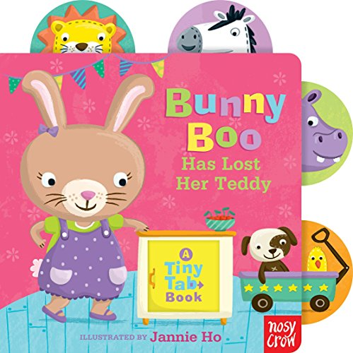 One Christian Toddler Shirt - Bunny Boo Has Lost Her Teddy: A Tiny Tab Book