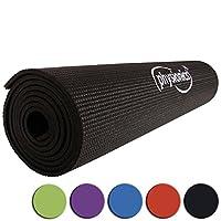 Physionics Gymnastik Fitnessmatte, FNMT05-0.5Schwarz