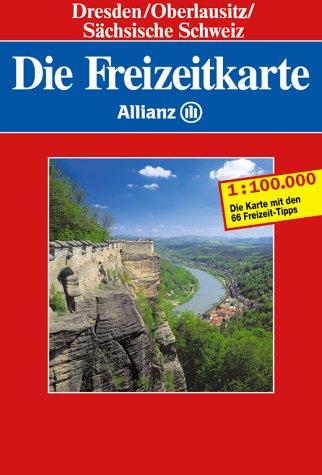 Die Freizeitkarte Allianz, Bl.64, Dresden, Oberlausitz, Sächsische Schweiz