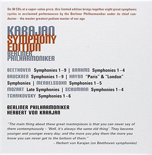 Karajan symphony edition: h-berliner phil/wiener karajan.