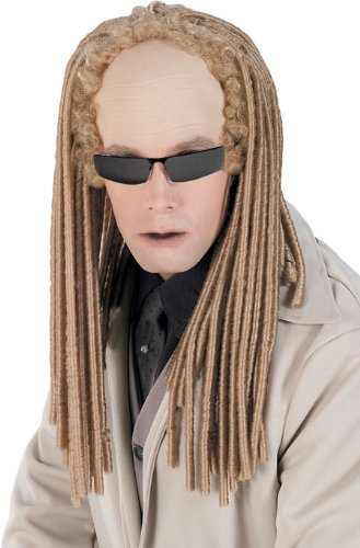 Matrix Reloaded Headpiece with Hair