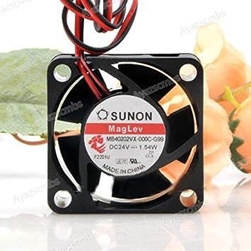 Ayazscmbs Compatible para Jianzhun SUNON MB40202VX-000C-G99 24V ...