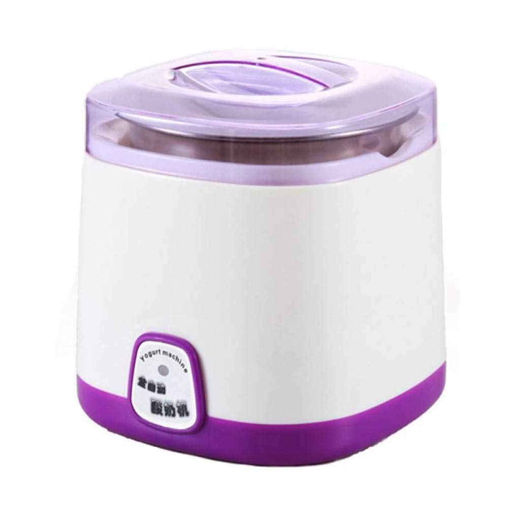 BBG Yogurt Machine Automatic Home Multi-Function Intelligent Fermentation Machine Rice Wine Machine Large Capacity natto Genuine,Purple,One Size