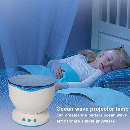 Flylinktech® Proyector Lámpara oceano con Altavoces de MP3 ...