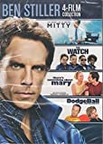 Ben Stiller 4 Film Collection: The Secret Life of Mitty / The Watch / there's something about mary / DodgeBall