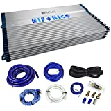 Hifonics BXX2000.1D 2000 Watt RMS Mono Car Amplifier Class D Brutus+Amp Kit