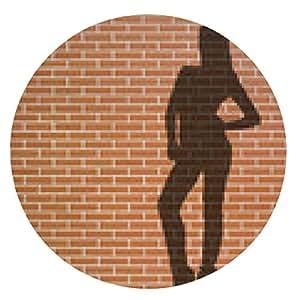 alfombrilla de ratón prostitución - ronda - 20cm