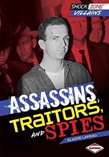 Assassins, Traitors, and Spies (Shockzone - Villains)