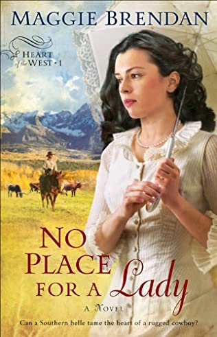 book cover of No Place for a Lady