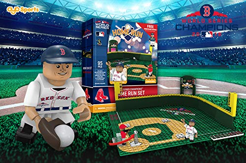 (Red Sox OYO Sports Toys Home Run Derby Champions Set with Minifigure Alex Cora)