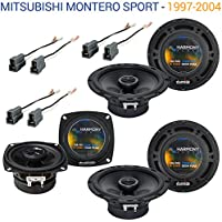 Mitsubishi Montero Sport 97-04 OEM Speaker Upgrade Harmony (2) R65 R4 Package
