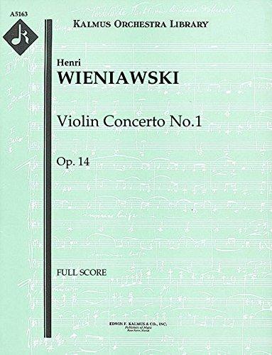 Violin Concerto No.1, Op.14: Full Score [A5163]