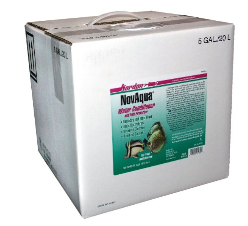 KORDON  #31175   NovAqua Water Conditioner for Aquarium, 5-Gallon by Kordon