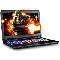 XOTIC Sager NP8156 (P650HP6-G) 15.6 FHD IPS G-Sync Gaming Laptop Intel Core i7-7700HQ, Nvidia GTX 1060 (6GB), 32GB 2400MHz RAM, Samsung 1TB NVMe SSD, 1TB HDD, Win 10, Full Color Keyboard