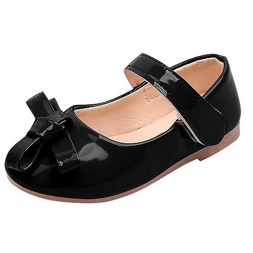 a25d4cba3 Zapatos para Niñas Otoño Invierno 2018 Moda PAOLIAN Calzado de Bailarinas  Danza Suela Blanda Antideslizante Zapatos