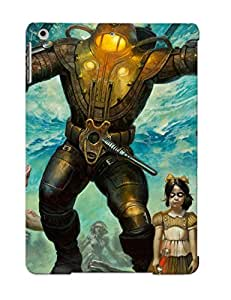 Exultantor Ipad Air Hybrid Tpu Case Cover Silicon Bumper Big Daddy Little Sister Bioshock Splice